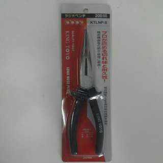 KING TOYO Long Nose Plier - 8""
