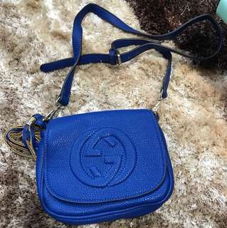 preloved Gucci sling bag mirror
