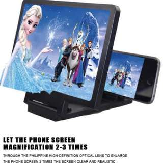 Screen Enlarger 3D effect for all phones