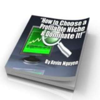 How To Choose A Profitable Niche & Dominate It! eBook