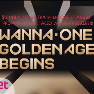 [PO] WANNA ONE GOLDEN AGE BEGINS SEALED ALBUM