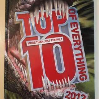 The top 10 of everything - 2012 edition