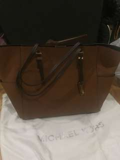 Mk brown tote bag