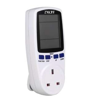 Digital Power Meter Energy Consumption Analyzer Wattage Meter