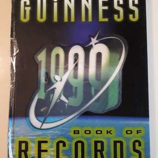 Guinness book of world records 1999