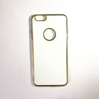 White and Gold iPhone Case