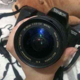 Minolta dynax 303si slr film camera