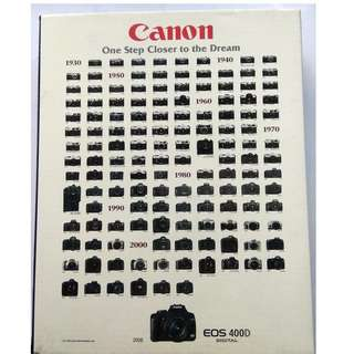 Jigsaw Puzzle 1000 pcs - Canon One Step Closer to the Dream