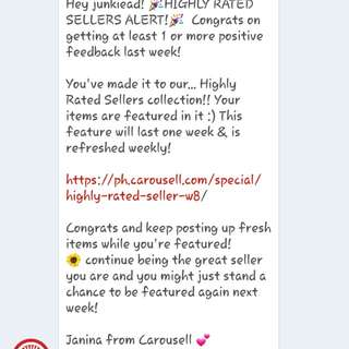 3rd Time. Thank you Carousell! ❤❤❤