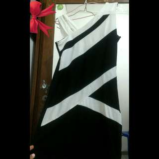 Dress BW / Hitam-Putih BKK