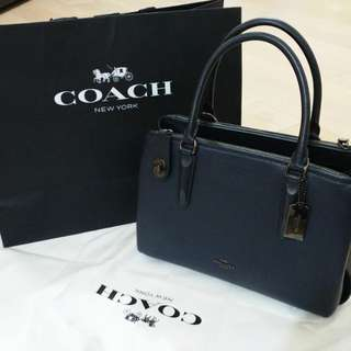 全新 COACH BROOKLYN CARRYALL 28