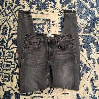 Zara dark denim jeans