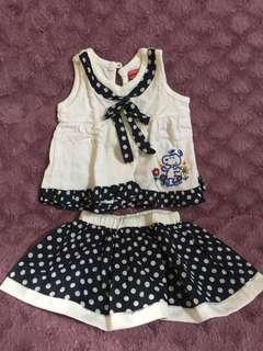 Set Dress Baby girl