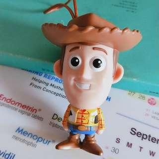 woody keychain and pen