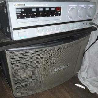 Martin Roland Karaoke System Set