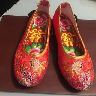 褂鞋 婚後物資
