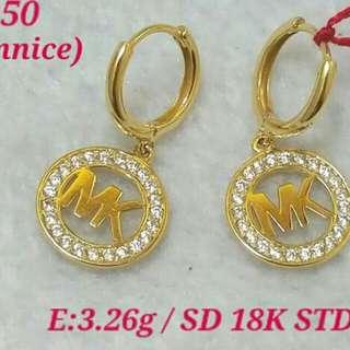 MK 18K SAUDI GOLD