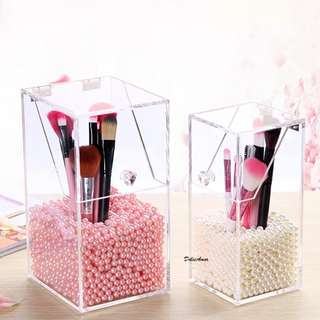 Pearly Make Up Brushes Organizer