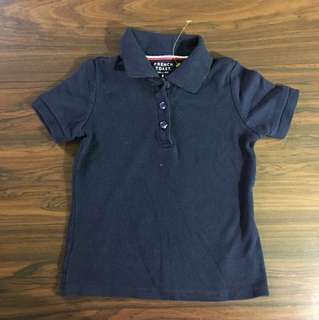 French Toast Blue Polo Shirt