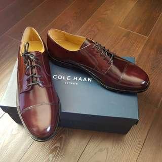 BNIB Cole Haan US9.5 Burgundy Derby Dress Shoe