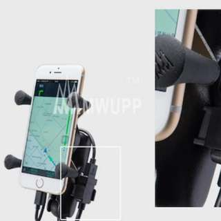 mwupp motorcycle usb fast charger