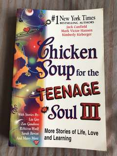 Chicken Soup for the Teenage Soul 3