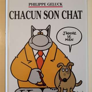 Chacun son chat - Philippe Geluck (French)