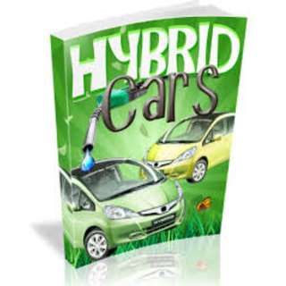 The Definitive Guide To Hybrid Cars (62 Page Mega Full Colored eBook)