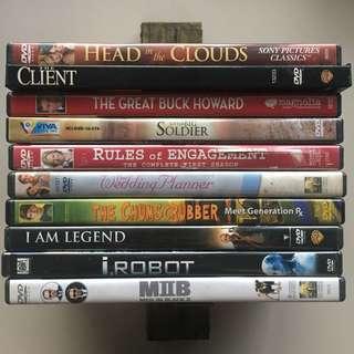 Original Dvds (Region 1 format)