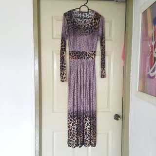 New Leppard Long Dress