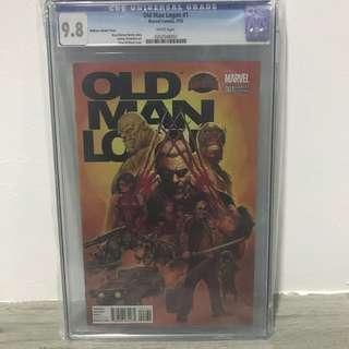 Old Man Logan (2015) #1 McNiven Variant CGC 9.8