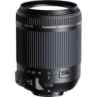 LOOKING FOR: Tamron 18-200mm Di II (for NIKON)