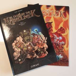 Le donjon de Naheulbeuk (French) comic book - 2 volumes