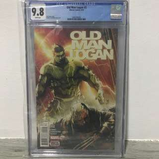 Old Man Logan (2016) #2 CGC 9.8