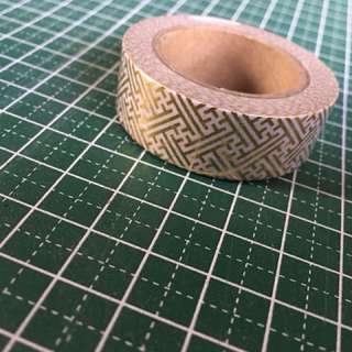 Washi Roll (foiled) 2