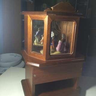 Vintage Wood Music Box