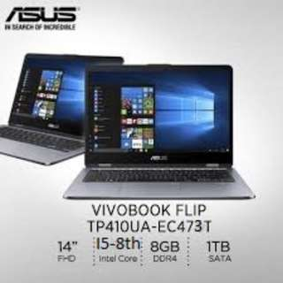 Latest Brand New Asus Vivo Flipbook TP410UA-EC473T
