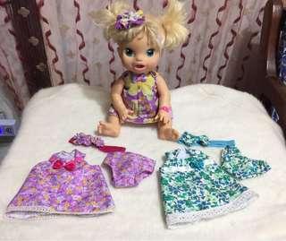 baby alive dresses per set