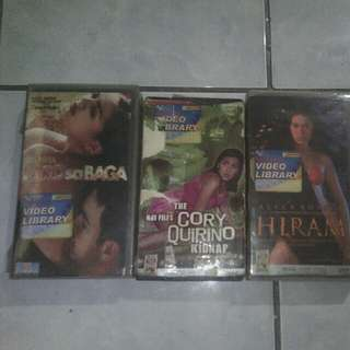 VHS PINOY MOVIES