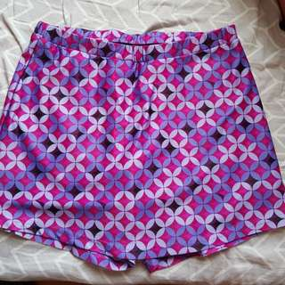 Retro Skirt/Shorts