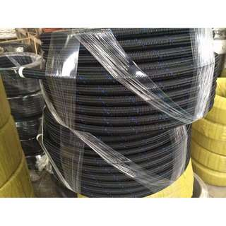 Black color Nylon hose AN4 ID 6mm          satu kaki model 35712