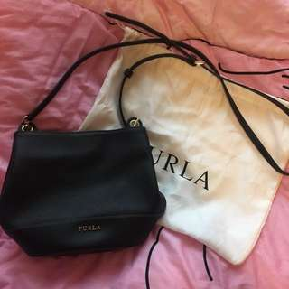 Furla small leather bag