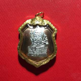 LP Sie Wat Sakae Phra Phrom BE2519 with T-Amulet Cert