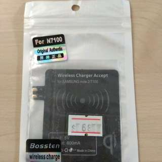 Qi Energy Card Wireless Charger Qi 無線電池貼 - Note 2 (送郵費)