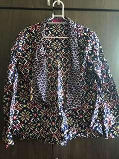 Batik Cardigan by Poprika