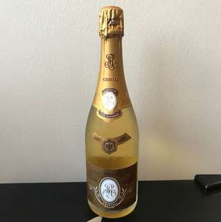 Cristal champagne Louis  Roederer 2002