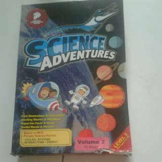 Science Adventures level 3