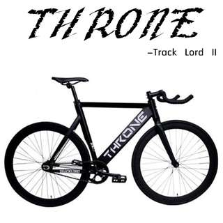 Throne - Track Lord II -  Full bike/ Frameset, Impressive &  Aero design, High specification.