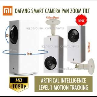Ceiling Mount Ready Xiaomi Mijia IP Wireless HD CCTV 1080p Night Vision Motion tracking