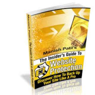 The Insider's Guide To Website Protection: Discover How To Back Up Your Site Like A Pro eBook
